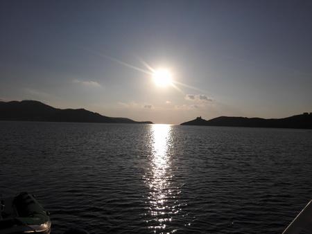 Sonnenuntergang auf Kea