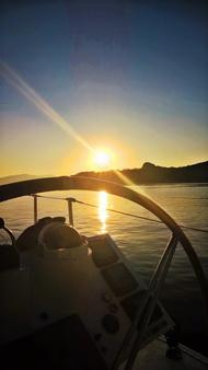 Sonnenaufgang bei Aigina