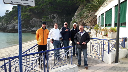 Crew auf San Nicola