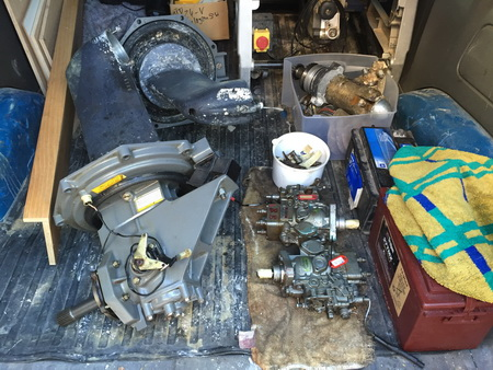 Getriebe und Einspritzpumpen abfahrbereit_1