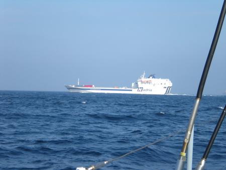 Schiffsverkehr in der Adria