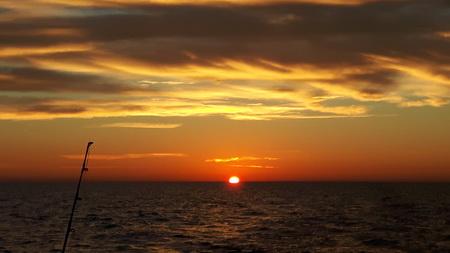 Sonnenaufgang vor Venedigig