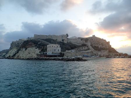 San Domino bei Nacht und Tag