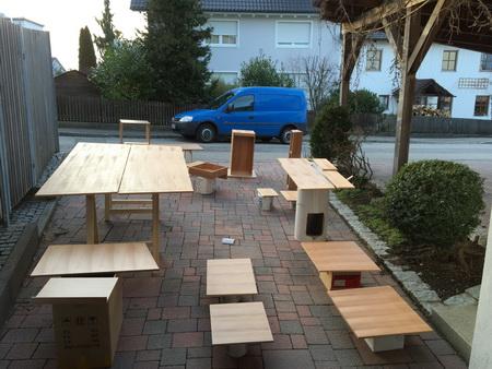 Holzplatten für Regale und NAvi