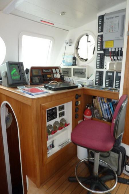 Navigation vor dem Umbau