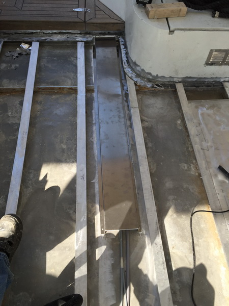 Cockpitboden-Unterkonstrucktion