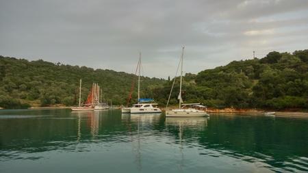 Ambelike Bucht auf Meganisi