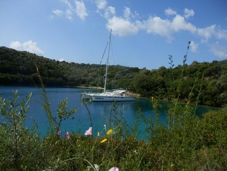 Ambelike-Bucht auf Meganisi