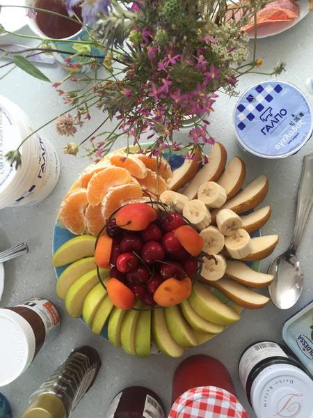 Frühstück in der Bucht