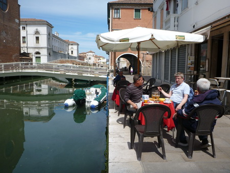 Mittagspause in Chioggia
