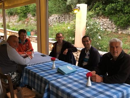 Taverne Minas auf Meganisi