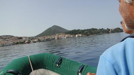 Beibootausflug nach Pylos