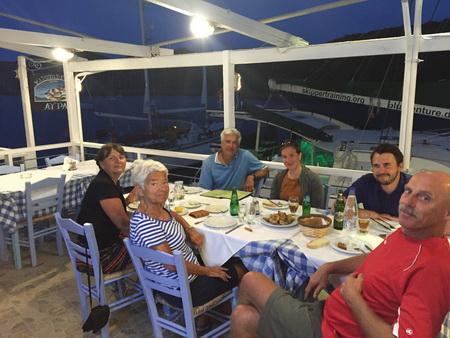Taverne Ayfra in Gerakas