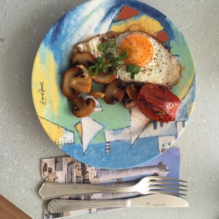 Frühstücksei auf VAVA-U