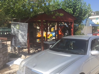 Taxi nach Epidaurus