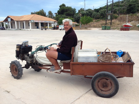 Fahrender Supermarkt in Ag Nikolaos auf Zakynthos