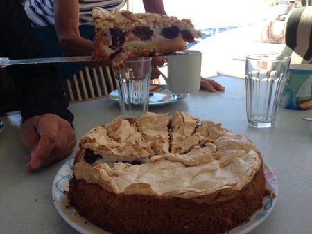 Kuchen auf See