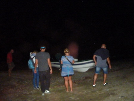 Nachtfahrt mit dem Beiboot