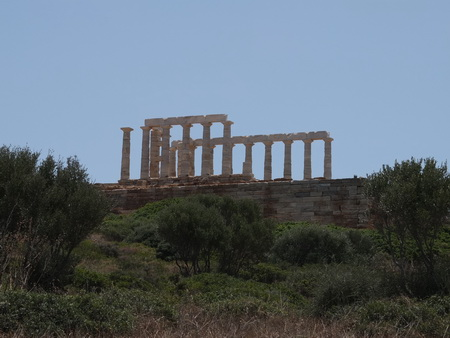Poseidon Tempel am Kap Sounion
