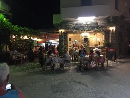 Letzter Törn-Abend auf Paros