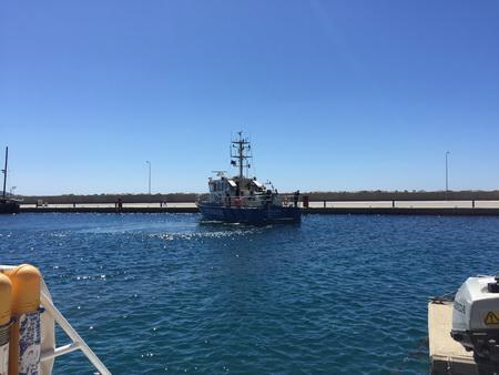 deutsche Küstenwache auf Samos