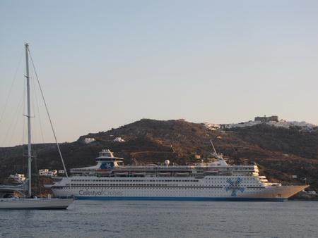 Kreuzfahrer vor Patmos