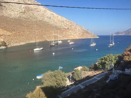 Ormos Palaio auf Kalymnos
