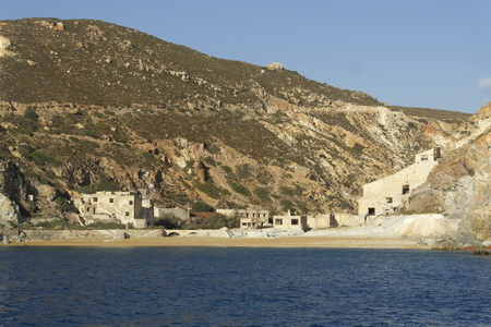 Bergbauküste Milos