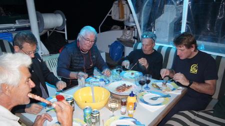 Abends in der Bucht auf Sapentiza