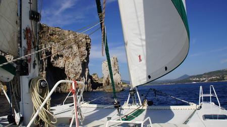 Segeln nach Pylos