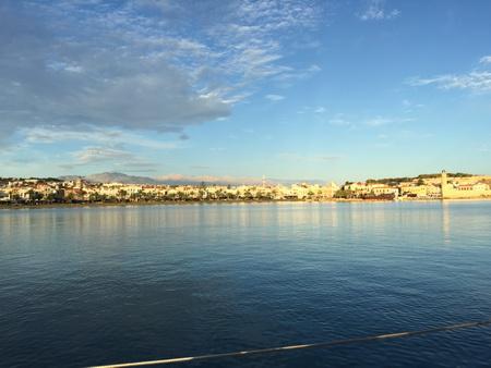 Kreta am Morgen bei Sonnenschein