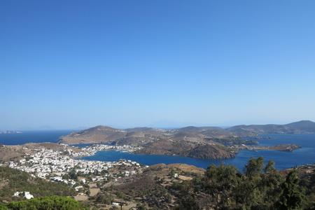 Blick über den Hafen PÜatmos