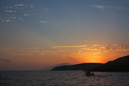 Sonnenaufgang über Schoinousa