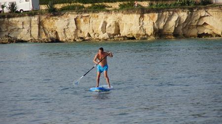 Badebucht auf Sizilien