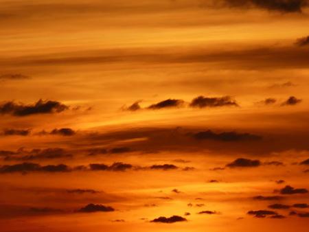 Sonnenuntergangstimmung