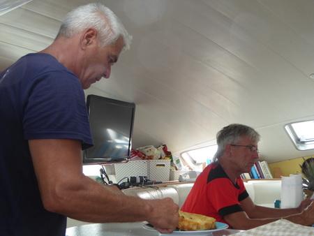 Kuchenbäcker Skip Martin