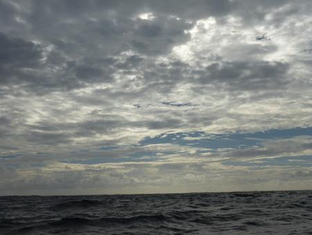 Himmel und Atlantik