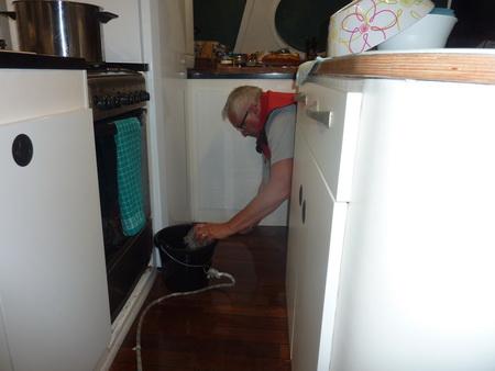 Thomas macht sauber