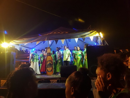 Gospelchor in Anse La Ray
