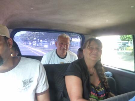Im Bus nach Castries