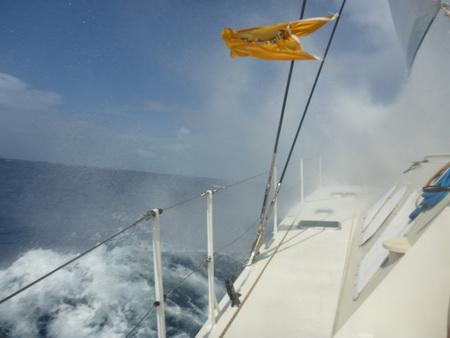 Ritt über 5m Wellen