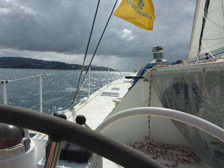Segeln nach Marigot Bay