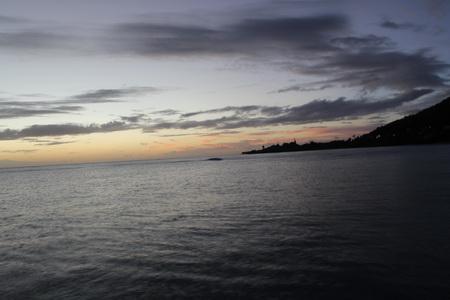 Abends auf St. Lucia