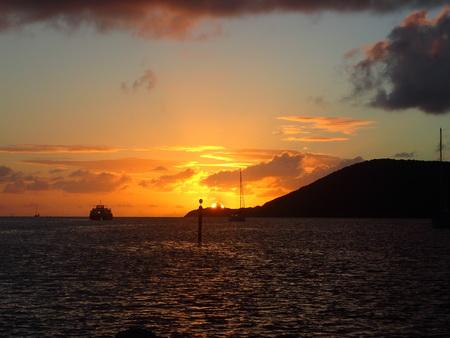Sonnenuntergang in der Rodney Bay