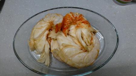 Langusten-Essen