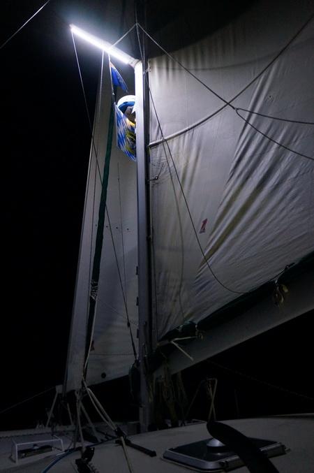 Nachtsegeln nach Bequia