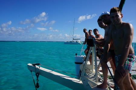 Segeln zu den Cays