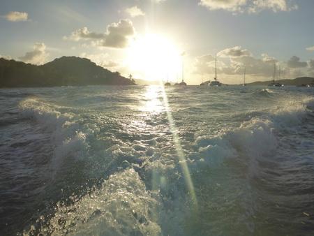 Dinghy-Ausflug in den Cays