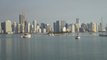 Unterwegs zum Ankerplatz in Miami