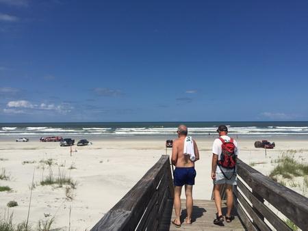 Über die Dünen zum Atlantik